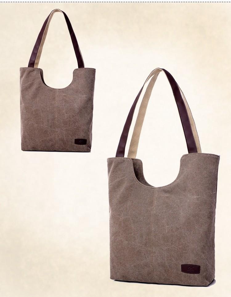 a1f03279ffc7a ᗜ LjഃLongmiao 2017 ريترو قماش حقيبة الإناث كبيرة حقائب النساء ...