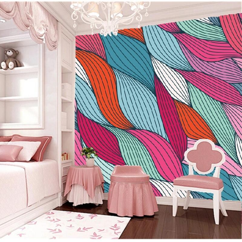 0bf4659ea الحديث خلفية مخصصة. الصوف-- مثل الجداريات نمط نوم الأطفال للحصول على غرفة  المعيشة خلفية التلفزيون ماء papel دي parede