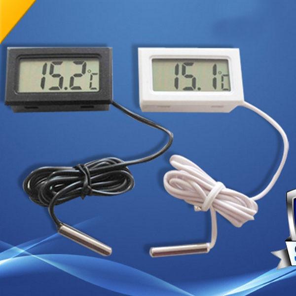 Las temperaturas extremas Term/ómetro Mini Maxi Lote 2 Pantalla digital