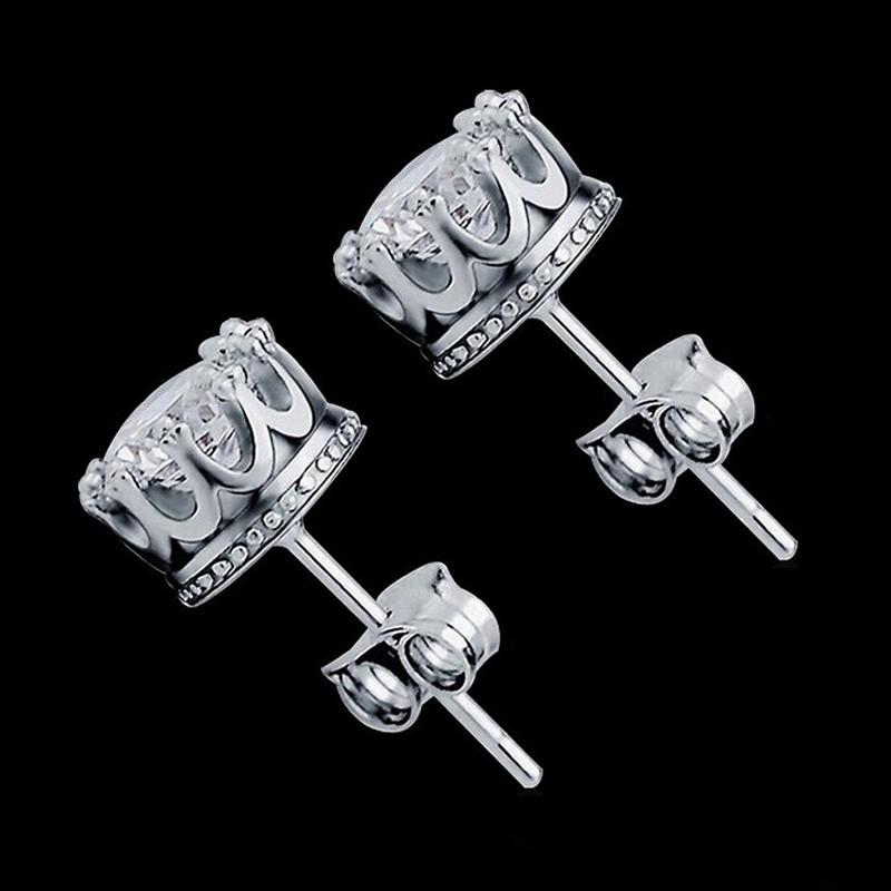 Une paire 316 L Cool Men/'s Silver épée Kantana Set en acier inoxydable Boucles d/'oreilles Clou