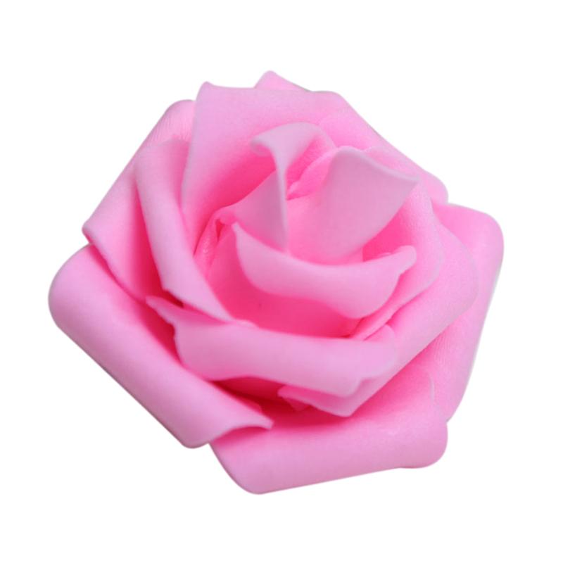 Stylo Design Original pour Mariage Livre dor Festival Anniversaire D/écoration Id/ée Cadeau Stylo Bille Bleu avec Rose Fleur Artificielle Simulation et Ruban C:1PC