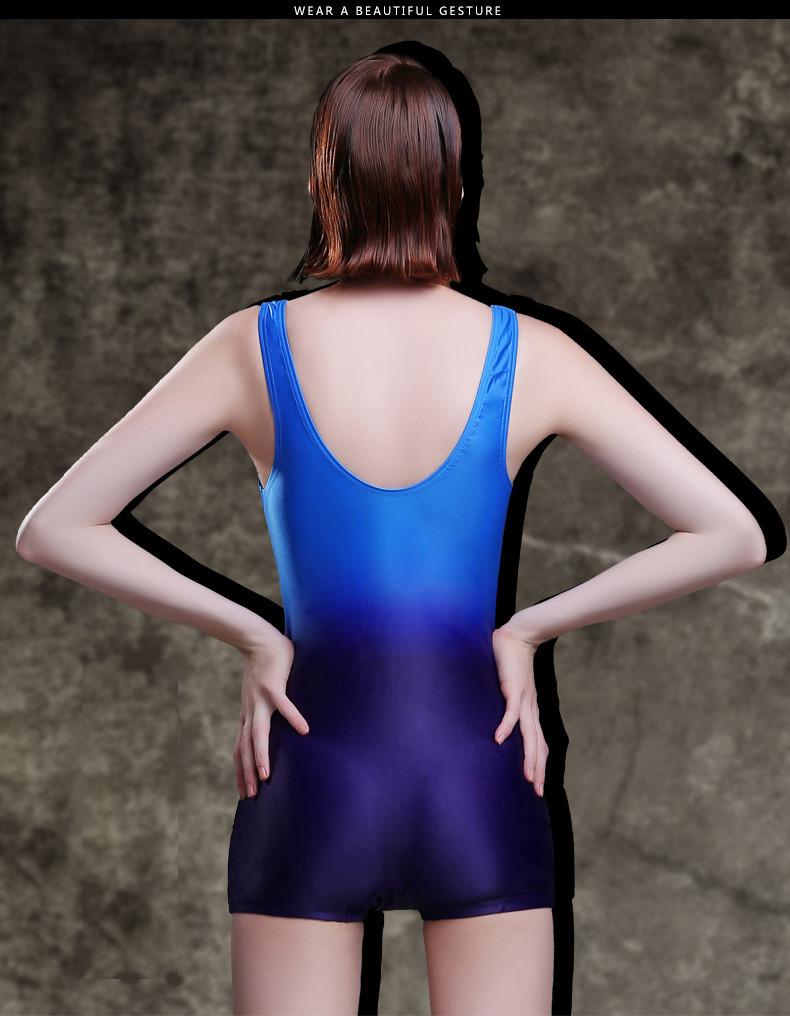 f5a006968ccf6 ᐊالأزياء الاستحمام بدلة التخسيس التدريب ملابس السباحة قطعة واحدة ...