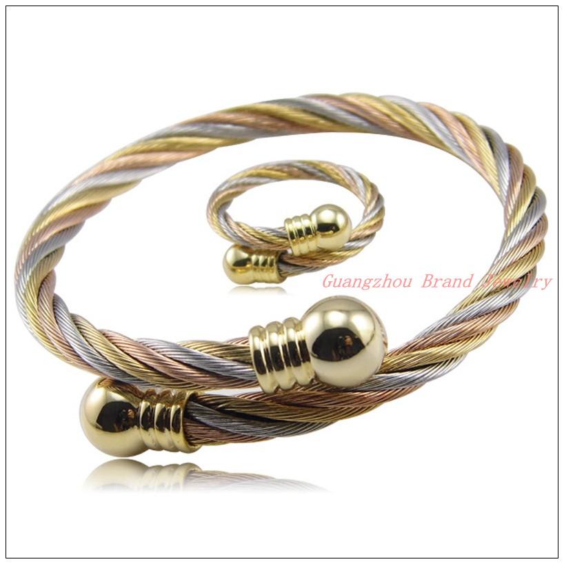 Acero Inoxidable 20mm 3//4 Est/ándar Cable Cuerda Cable Dedales Tono Plata