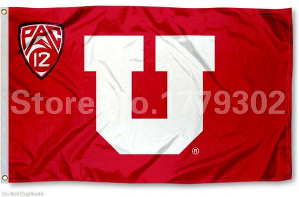 Utah University Of Flag 3 X 5 Fan Bandera 150x90 Cm Bandera
