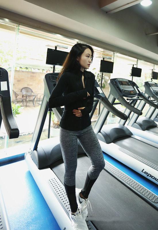 More Mile Power Femme Formation Collants Noir Élégant Couleur Bloc Gym Entraînement