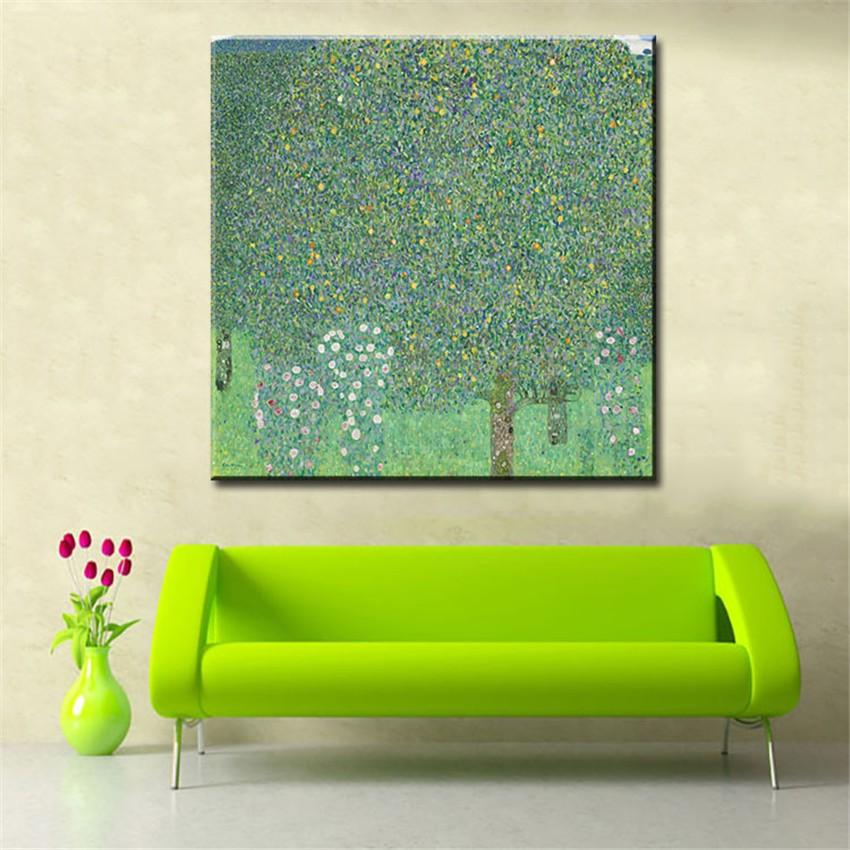 ᗑoriginal Mur Photo Gustav Klimt La Arbre De Vie Peinture
