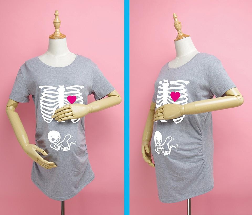 7bcef6791 ⃝Maternidad embarazada camisetas Shorts Casual embarazo ropa para ...