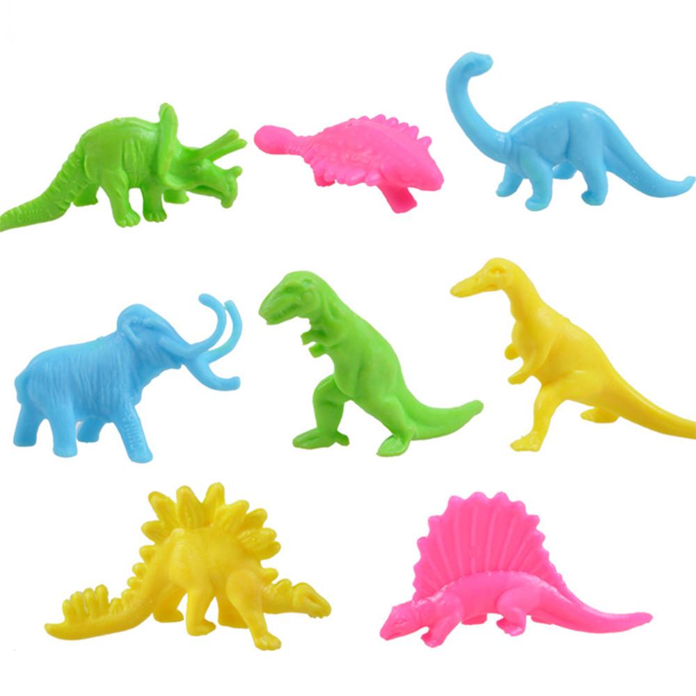 Animaux En Plastique Jouet 32 pcs dinosaure jouet ensemble en plastique drôle jouer