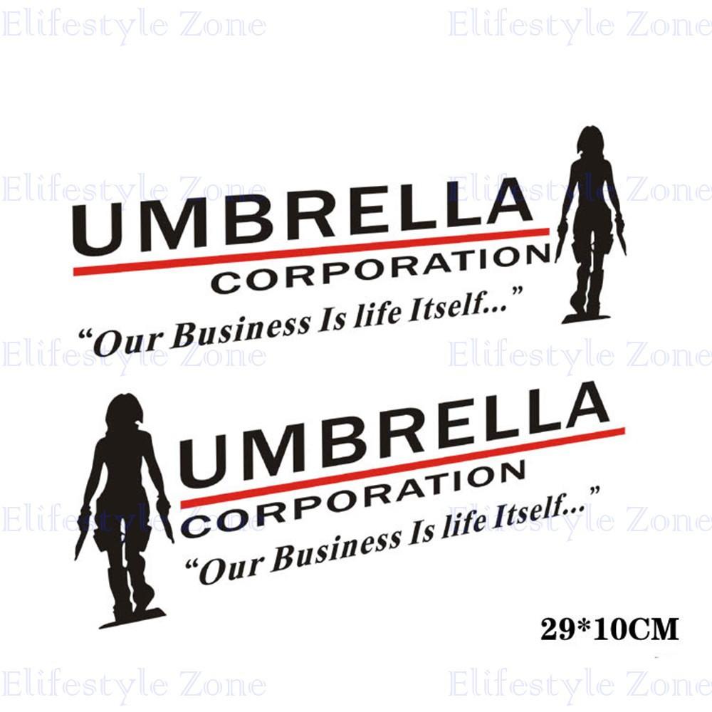 3D Lente de Cristal Frontal para Hombre Regalo Resident Evil-Umbrella Corp-gemelos