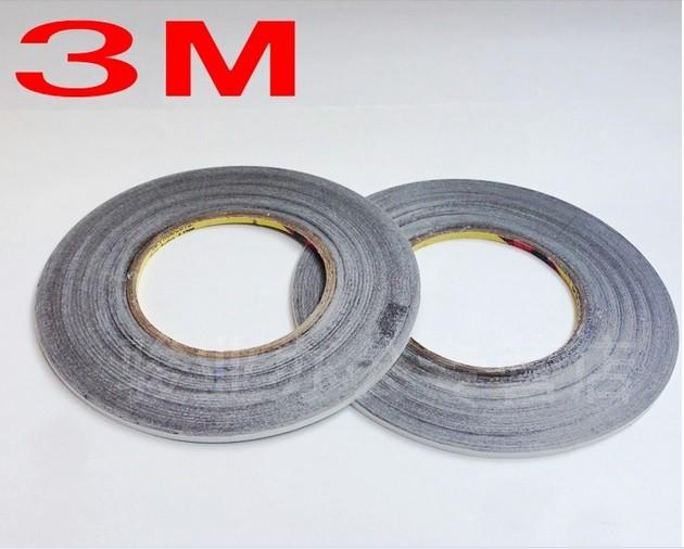 3 M VHB 100 Mm x 50 mm 2.3 mm grueso cojín gris tejido recubierto de cinta adhesiva doble