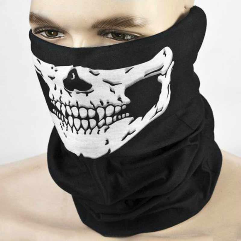 2X Bandana Visage UV Bouclier Masque Pêche coiffure biker cou écharpe Tube Crâne Tête