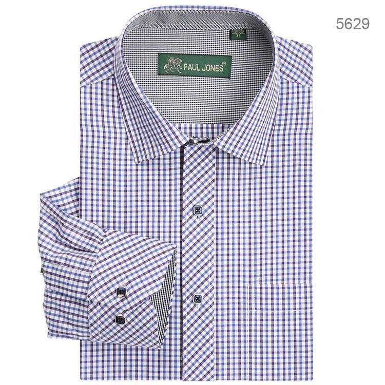 8926b7d982a64e Brand New Plaid Męskie Koszula Z Długim Rękawem Koszule Casual Biznes  formalna koszula Camisa Hombre chemise homme masculina