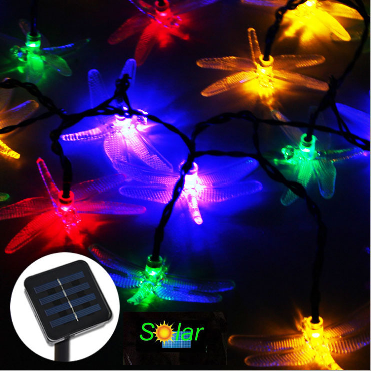 Solar Powered Tree Lights