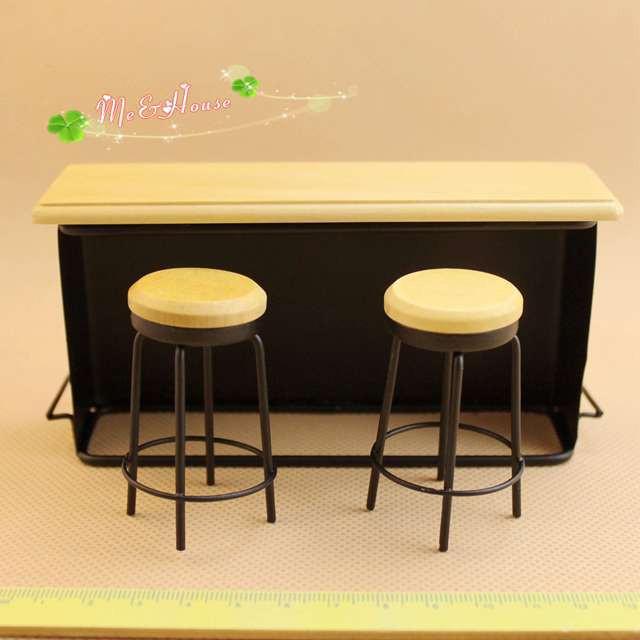Chaise en tulipe avec coussin FIT FOR 1:12 Mobilier miniature Dollhouse ACCS