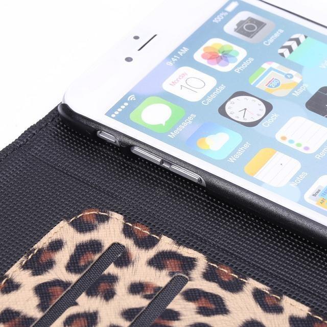 ჱdla Apple Iphone 6 Plus 5 5 Cal Leopard Panther Drukuj