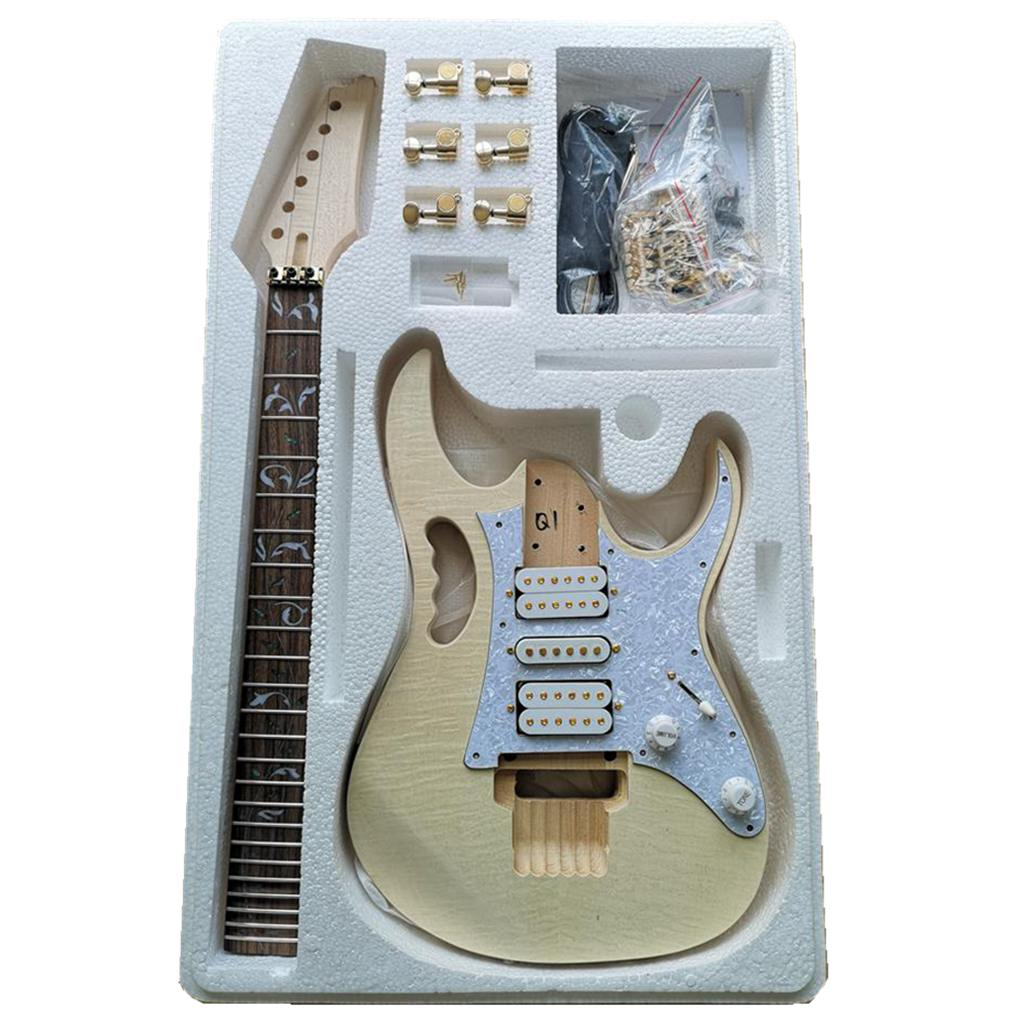 Premium DIY Electric Guitar Kit - Unfinished Project Guitar Kit