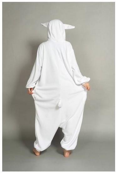 cd2357c6a3e73 ⓪Nouveau Adulte Animal Polaire Femmes de Blanc Lapin Pyjamas ...