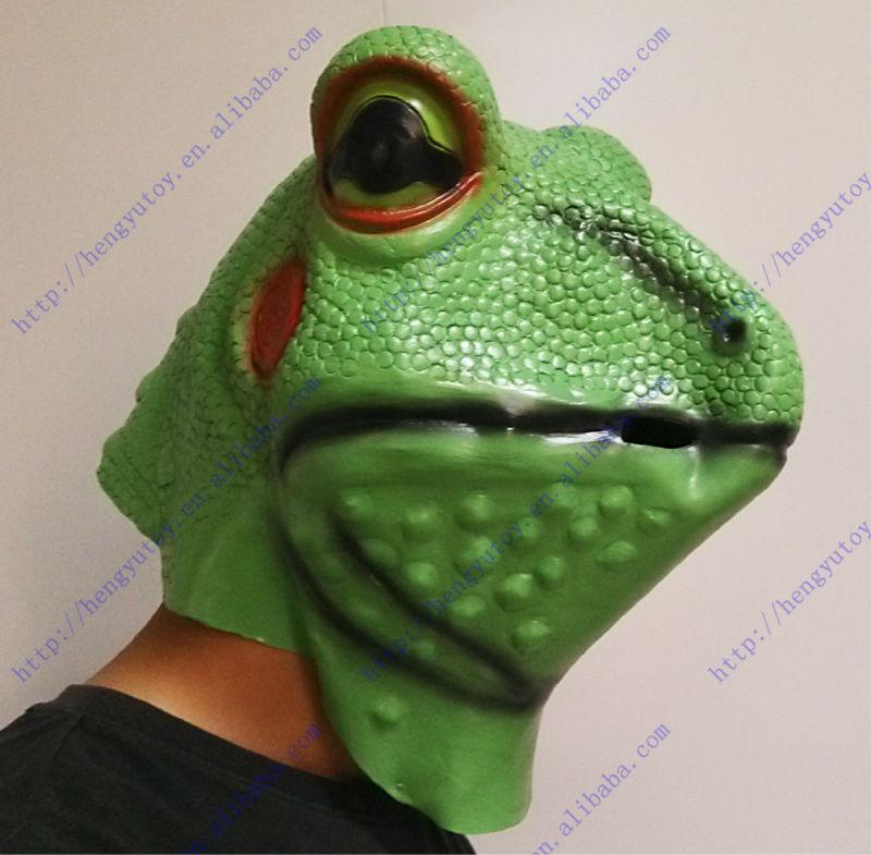 Elf House Pendentif grenouille verte tropicale Grenouille Violet