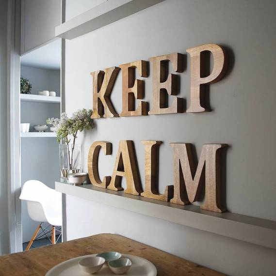 China Painted Wooden Wall Letters Decorative Wood Letter   Buy     wooden letter jpg white wooden letter jpg keep calm letter jpg