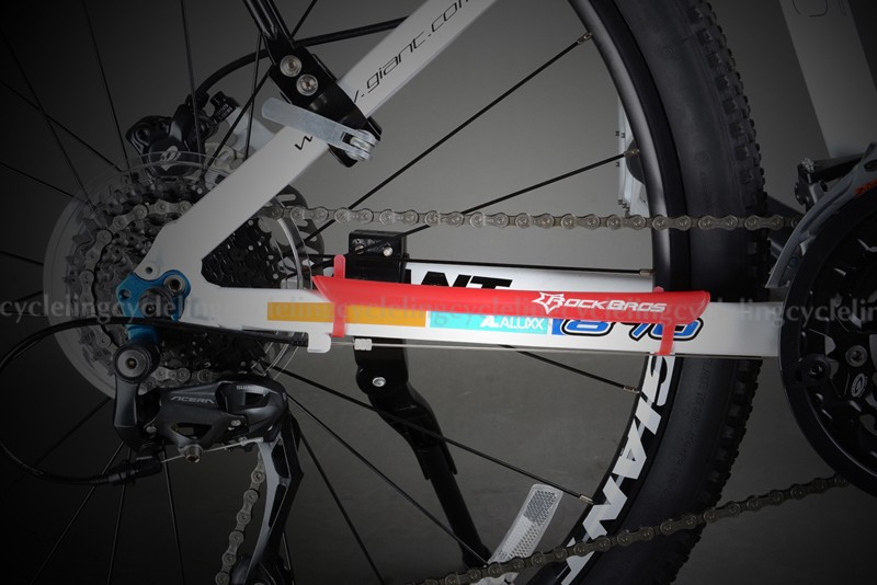 RockBros Vélo VTT PC chaîne de protection de cadre Stay arrière Fourche Garde