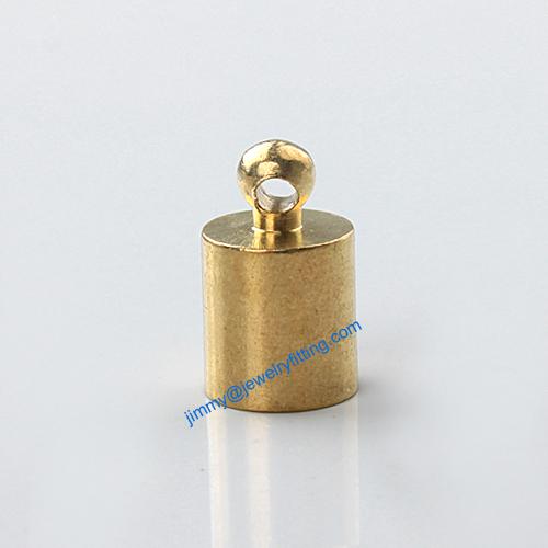 20 Couleur Argent Laiton Cordon Fin 6 mm Large Collier caps G5