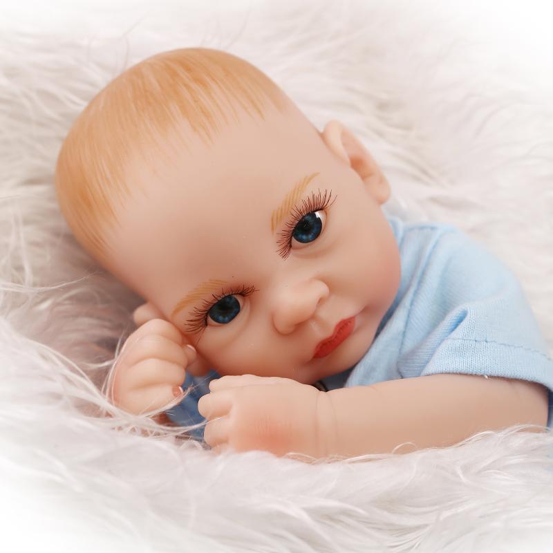 ©Горячая мини-силиконовые <b>Reborn</b> куклы <b>Baby</b> игрушка для ...