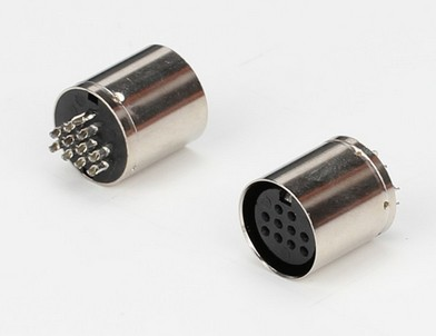 conectores DIN Negro Enchufe los conectores de Audio Video 180 5 Pin