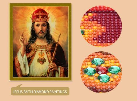 TaoToa 5D Kit de Pintura Diamante Bricolaje Bordado Kit de Punto de Cruz Artes Hogar Decoracion de Pared Artesania Naranja