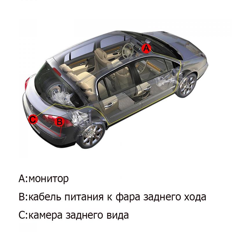 ©28 MM HD CCD Samochodów Tylnej Kamery foteli parking ...