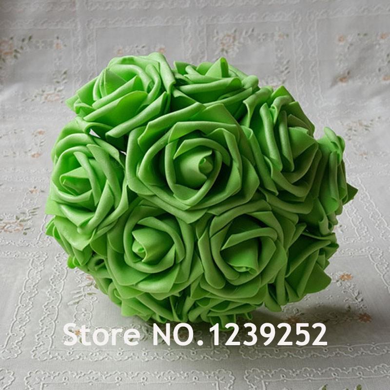 Miniature Rose Vert Ombre Plant Bush blanc printemps hiver Dollhouse F30