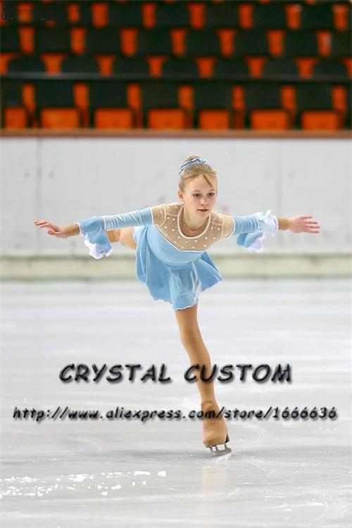 a1aaa16e21 ... Vestidos De Patinação Artística Para A Competição DR3967 Graciosa Nova  Marca de Patinação No Gelo Vestido Feito Sob Encomenda ek-bm2008-2280 ...