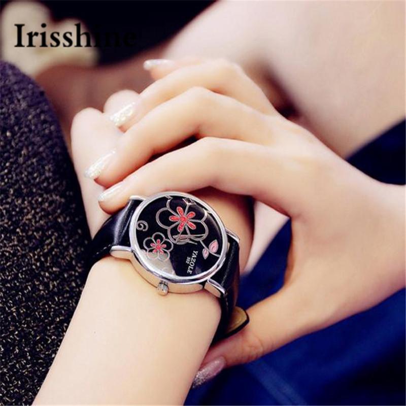 3f9fdb159 Φ_ΦIrisshine B0856 ماركة فاخرة سيدة فتاة المرأة الساعات هدية ساعة ...