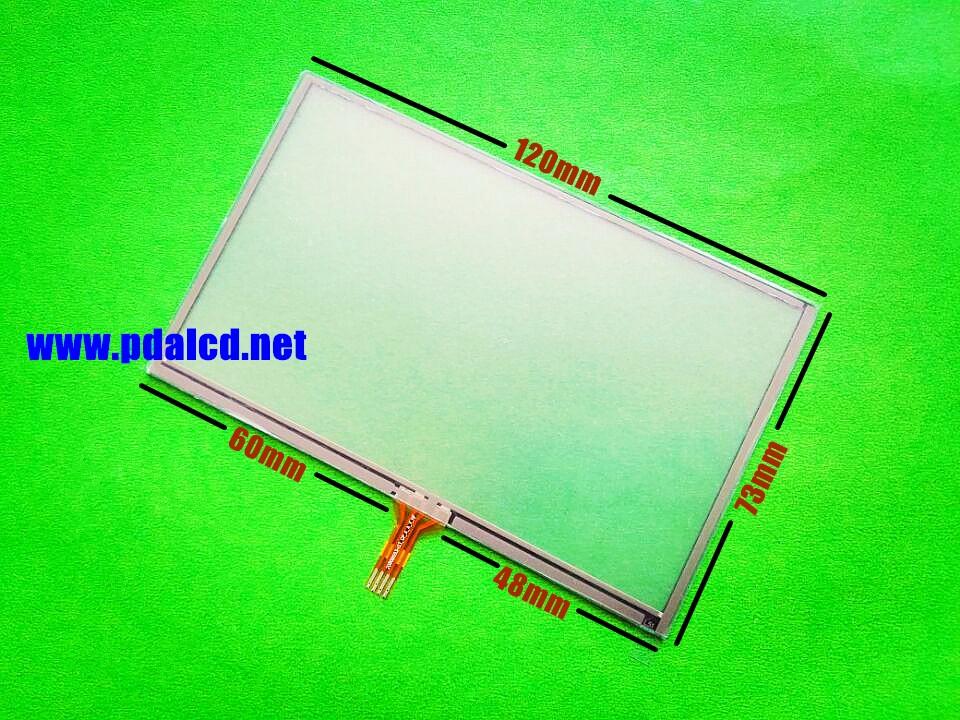 Garmin Nuvi 1490//1490 T LCD Pantalla Táctil Digitalizador Cristal