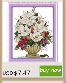 ᐊla Fleur Vases Compte Point De Croix A La Main Fleurs Point De