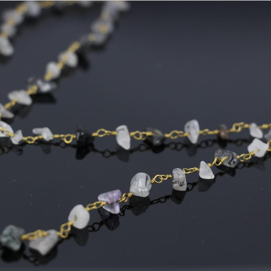 100 Dull Silver Tone Coil End Crimp Beads attaches Connecteur 5X9mm conclusions