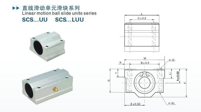 42de941797935 ⃝10 adet/grup SC6UU SCS6UU 6mm Lineer eksen rulman blok ile LM6UU ...
