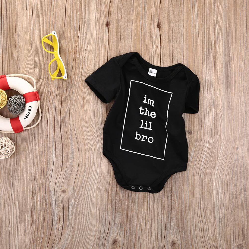 18fc70a88ccc9 ₩جميل الرضع طفل رضيع القطن إلكتروني قصيرة الأكمام الصيف الأسود ...