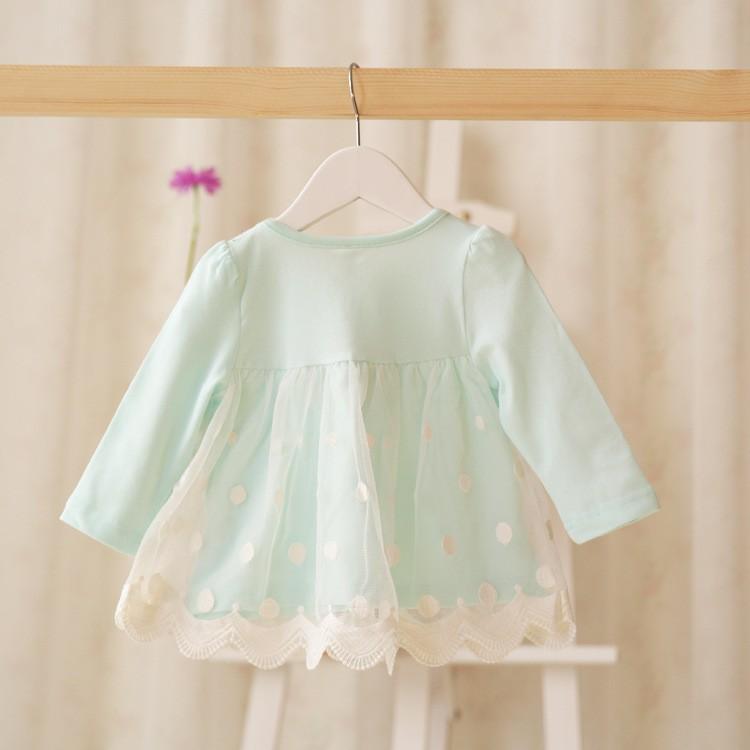 10f6283286621 إعلان النقاط مش الطفلات اللباس جودة لطيف الدانتيل حورية جميلة ملابس الطفل  اللباس الطفل فساتين vestido infantil roupas meninas