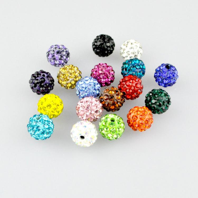 72 perles de verre à facettes 8x5mm ronds acier métallisé perles spacer