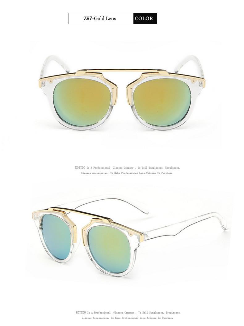 6af18caa5 أزياء الإطار المعدني النظارات الشمسية المرأة العلامة التجارية مصمم نظارات  UV400 الرجعية خمر القط العين الرجال نظارات شمسية نظارة Oculos دي سول