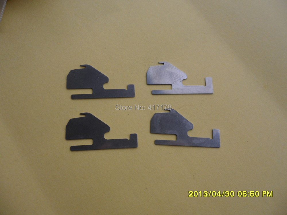 Plantilla en blanco láminas de plástico seguro láser Pastel de Máscara 5 X A4 Mylar 190 micras Arte