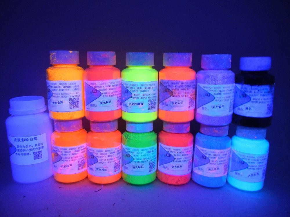 Glow In The Dark Body Paint