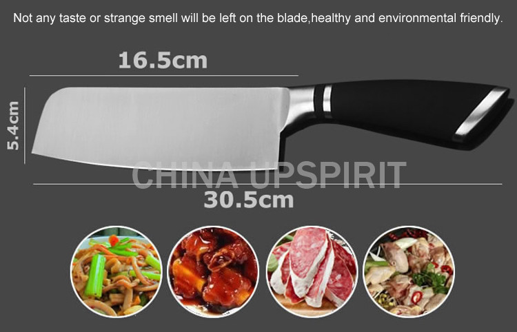 58905e66f7c4e ̿̿̿(•̪ )Kmyc عالية الجودة المقاوم للصدأ سكاكين المطبخ النمط الغربي ...