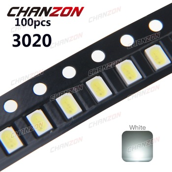 6 3-chip 6-pin 60ma-Warm white-blanco-azul-rojo 10x 5050 SMD Sop