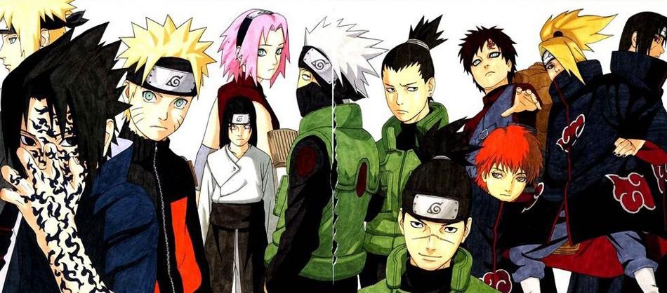 Hot Uzumaki Naruto full New Art Poster 40 12x18 24x36 T-530