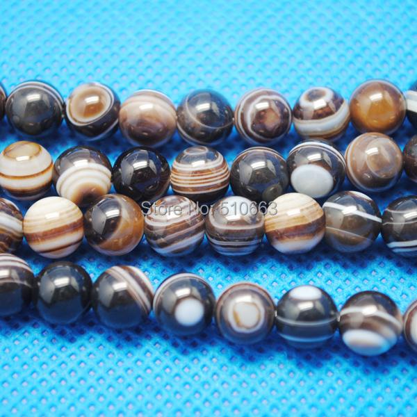 Rayas natural achat perlas Matt bala multicolor Mix set 8mm piedras preciosas Best g72