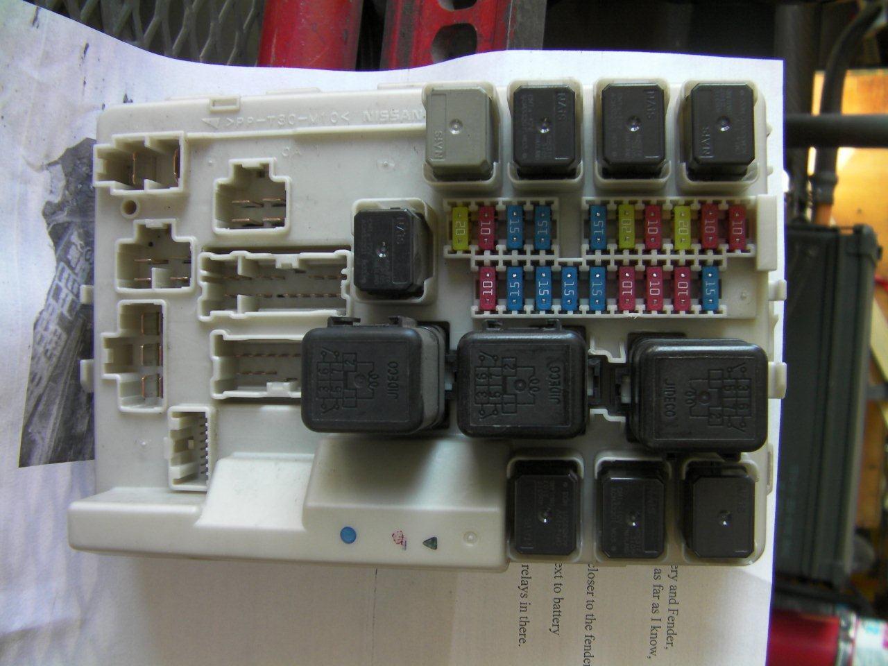 2008 Nissan Quest Fuse Box Diagram 350z Location