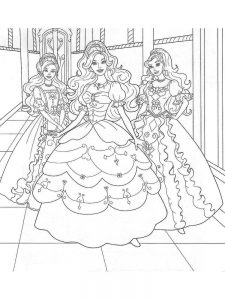 barbie coloring pages free # 33