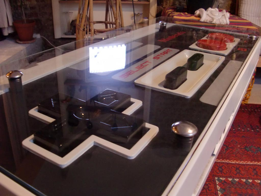 Nintendo Nes Controller Coffee Table Integrated Nes Game