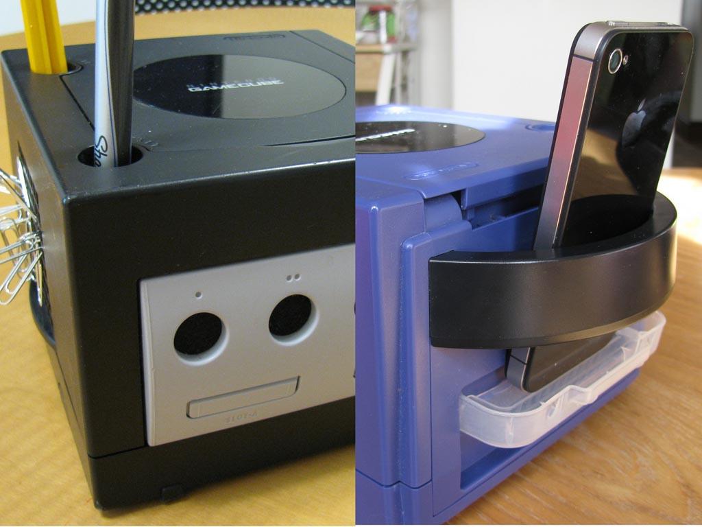 Nintendo Gamecube Desktop Organizer Gadgetsin